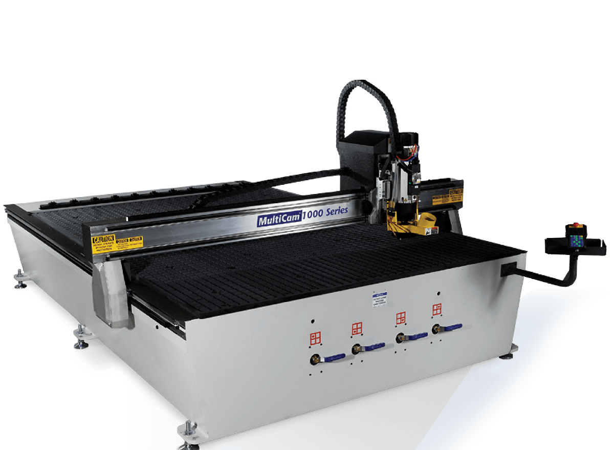 CNC router ( MultiCam 1000 series ) .250*125 cm